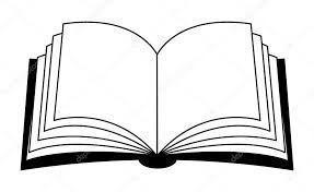 Libro Abierto Para Colorear Open Book Drawing Book Drawing Coloring Pages