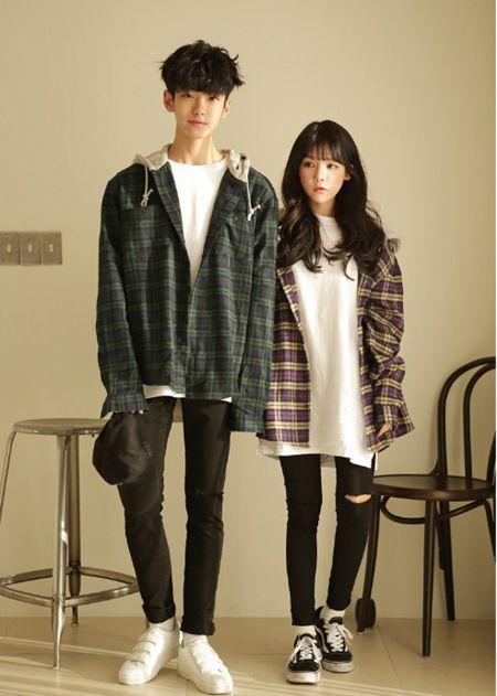 Korean Couple Fashion Official Korean Fashion Koreanclothes Couple Korean Street Fashion Korean Outfits Korean Fashion Trends