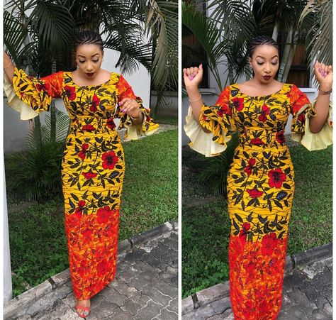 This African Print dress can be made to order in US sizes 6 - 18. It can also be made to measure in buyers exact measurement. The Ankara fabric used is 100% cotton, gentle on the skin and is easily dry cleaned. If buyers do not like the print on the model, we have varieties of other prints to