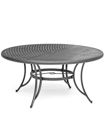 Grove Hill Ii Cast Aluminum 61 Outdoor Table Created For Macy S