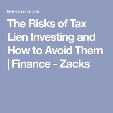 when does the irs file a tax lien