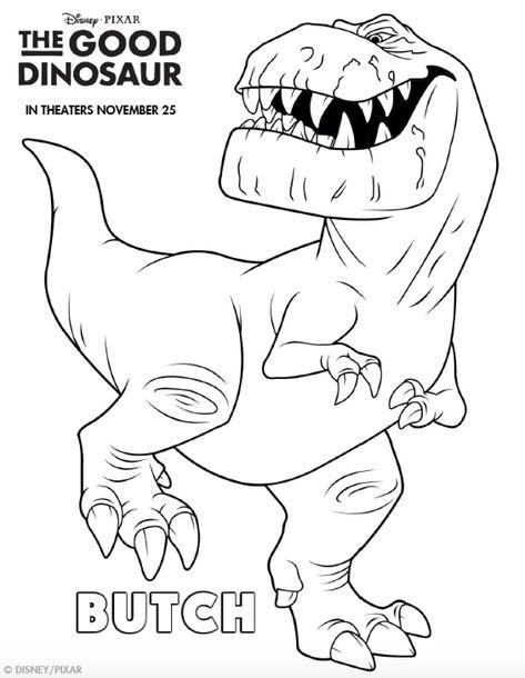 Kleurplaten Dinosaur.Pinterest