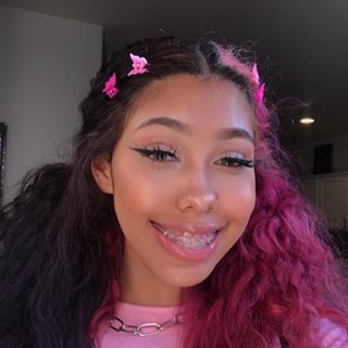 Rubee Lana R6bee Instagram Photos And Videos Pink Hair Dye Aesthetic Hair Dyed Natural Hair