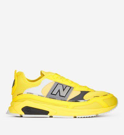basket new balance jaune fluo