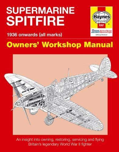 World War II Haynes RAF Hawker Hurricane Manual 1935 Onwards Car ...