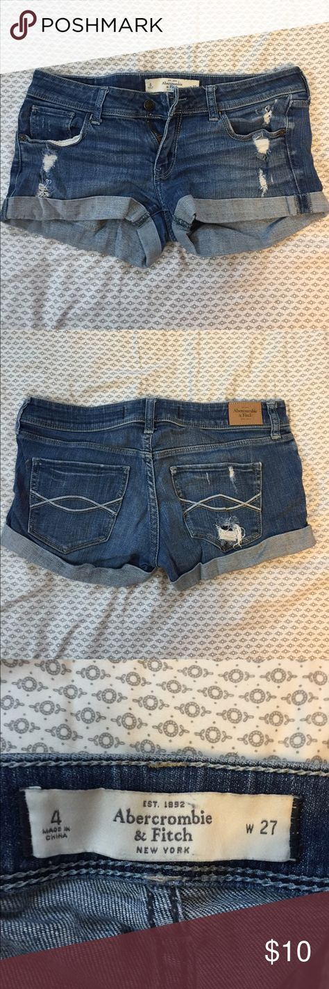 Abercrombie & Fitch jean shorts Great condition! Abercrombie & Fitch Shorts Jean Shorts