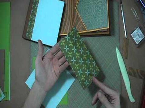 Scrapbook Tutorial - JAnnBDesigns Envelope Mini Album, Video 4 of 5