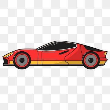 Vector Cartoon Car Cartoon Clipart Car Clipart Sports Car Png And Vector With Transparent Background For Free Download In 2020 Cartoon Clip Art Car Cartoon Car Vector