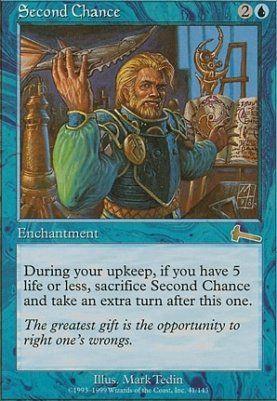 Second Chance MTG Magic Urza/'s Legacy Rare