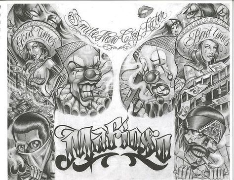 Chicano Art Tattoos Chicano Art Flash Dragon Tattoo Hamburg