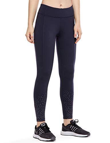 Pantaloni Sportivi Donna Leggins Sportivi Fitness Palestra Leggings con Tasca