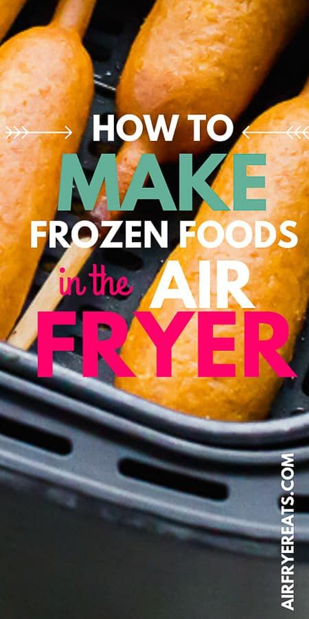 Air Fryer Recipes Pizza, Air Frier Recipes, Air Fryer Dinner Recipes, Frozen Fish Fillets, Frozen Tilapia, Bagel Bites, Pizza Bites, Air Fryer Fries, Best Frozen Meals