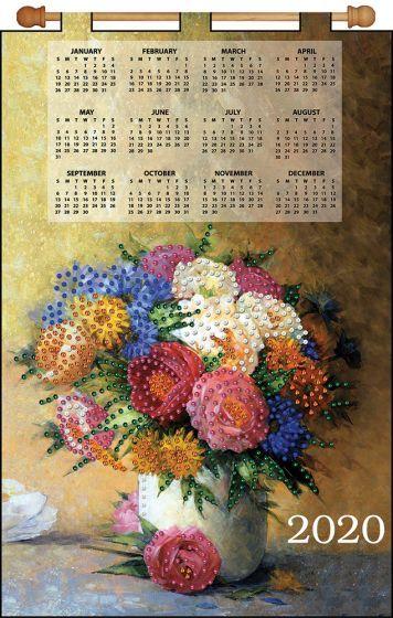 Maxim Calendar 2020 Majestic Floral 2020 Felt Calendar | Felt Calendars | Calendar