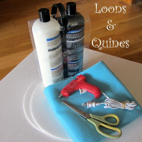 Loons and Quines @ Librarytime: Flannel Friday - Hand-held Flannel Board