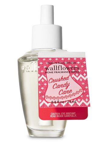 Crushed Candy Cane Wallflowers Fragrance Refill Bath And Body Works Bath And Body Bath And Body Works Room Scents