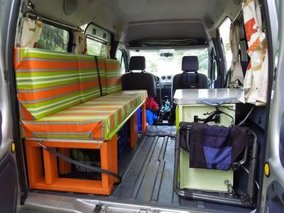 I Am A Widow In My Seventies And Built This Design For Ford Transit Connect Have Taken Six Trips It Summer Has Been Wonderful