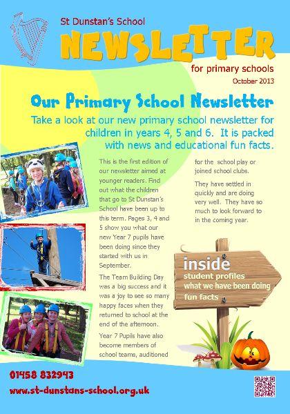 Newsletter  School Pa Newletter