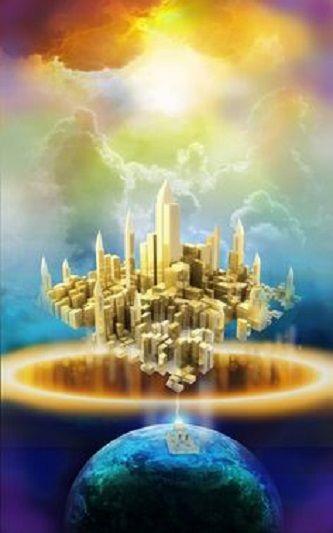 Golden Light Cities Visualization | Prophetic art, Jesus pictures, Jewish art