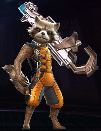 Rocket Raccoon Guardians Of The Galaxy Png Rocket Raccoon Guardians Of The Galaxy Marvel Future Fight