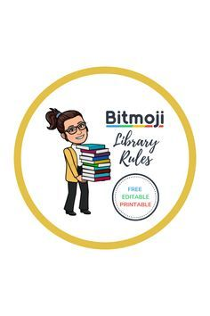 Bitmoji Library Rules - Mustard Seed Reads - My library - Bitmoji Classroom Library Rules, School Library Decor, Library Games, School Library Displays, Middle School Libraries, Elementary School Library, Library Skills, Library Science, Library Activities