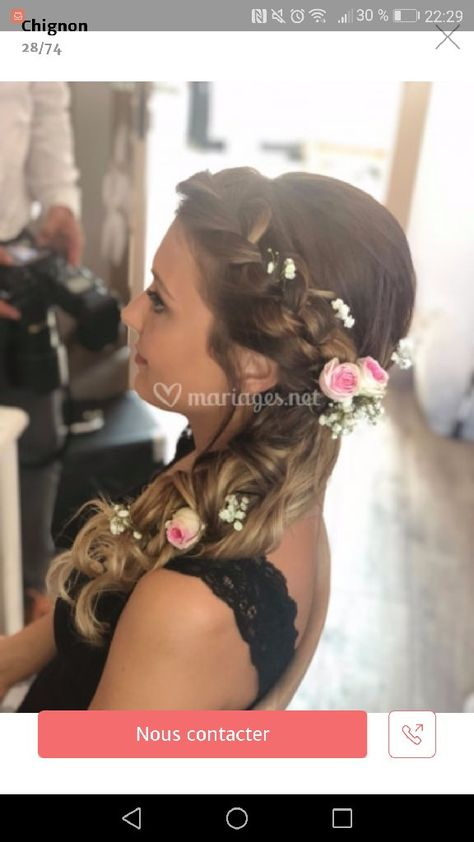 Robe Choisie Page 2 Mode Nuptiale Forum Mariages Net Coiffure Mariage Coiffures Relevees Types De Coiffures