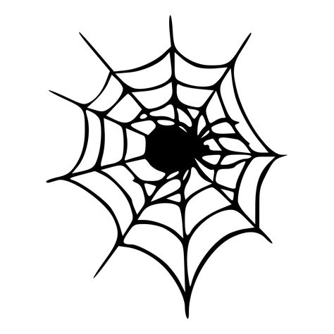 Spider On Web Die Cut Decal Car Window Wall Bumper Phone Laptop