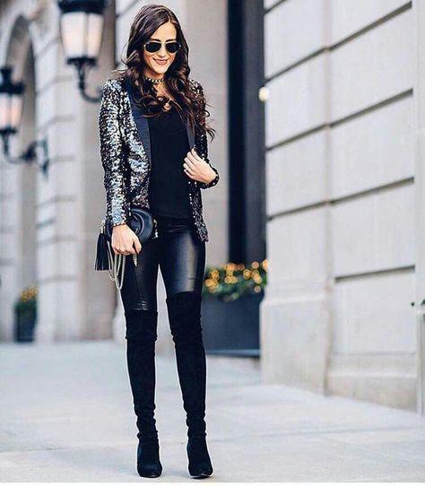110 Ideas De Pantalon Piel Moda Ropa Moda Para Mujer