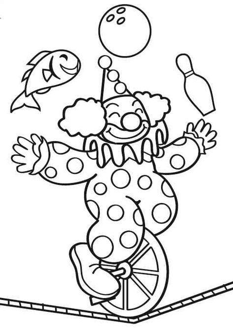 zirkus mandala fasching  ausmalbild in der zirkus manege