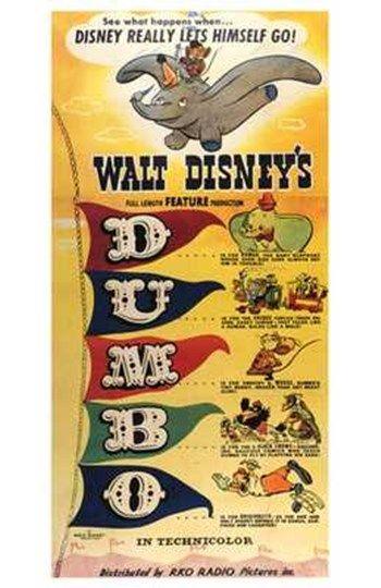 Dumbo D-U-M-B-O at FramedArt.com