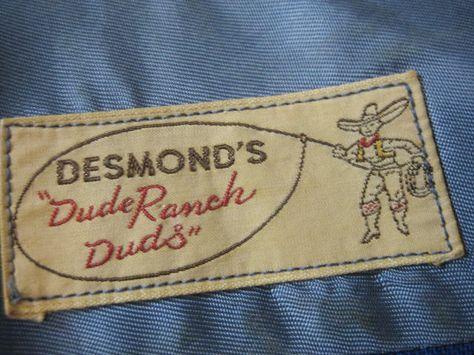 Desmond's label