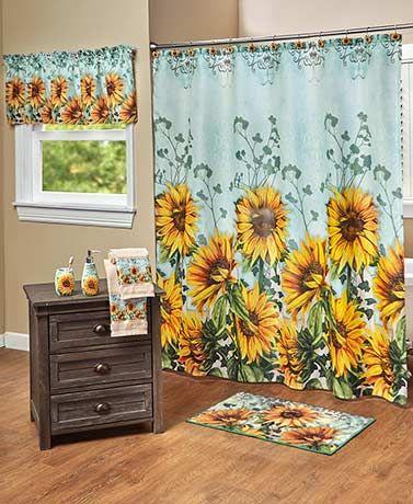 Sunflower Bathroom Collection In 2020 Sunflower Bathroom First