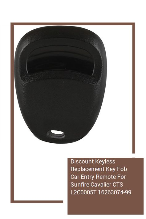 Discount Keyless Replacement Key Fob Car Entry Remote For Sunfire Cavalier CTS L2C0005T 16263074-99 2 Pack