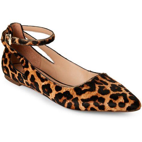 Franco Sarto Leopard Calf Hair Pointed