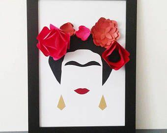 Cuadro Frida Kahlo Abstracto Frida Kahlo Home Y Home