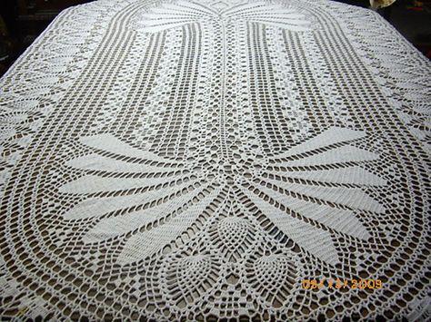 Ravelry: Princess Tablecloth pattern by Elizabeth Hiddleson