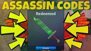 Roblox Assassin Codes Updated Roblox Coding Assassin