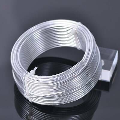 Ebay Advertisement 19meter 10gauge 2 5mm Aluminum Soft Craft Cord Metal Beading Wire Lot Silver Jewellery And Watches Jewely Ebay