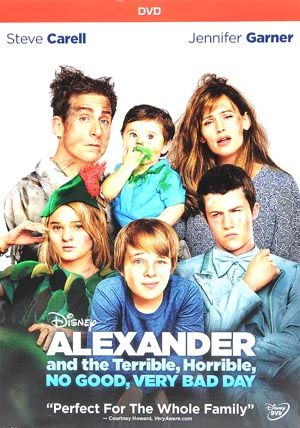 Alexander And The Terrible Horrible No Good Very Bad Day Dvd