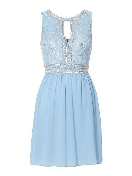 Closet Jacquard Bardot Skater Dress ( 84) ❤ liked on Polyvore featuring  dresses ec5139649