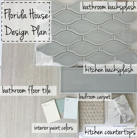 beach cottage style Remodeling an old florida home with a new coastal design plan, pale blue paint, grey subway tile, white cabinets and cool tones update at old home. Beach Cottage Style, Coastal Cottage, Coastal Homes, Beach House Decor, Coastal Decor, Coastal Farmhouse, Coastal Style, Coastal Furniture, Beach House Colors