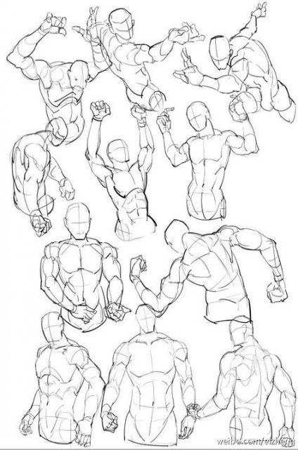 Drawing tutorial body male muscle 46 new ideas #drawing