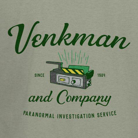 #shirt #shirtdesign #teeshirt #tshirt #popculture #geek #entertainment #tv #television #movie #art #clothing #apparel #sweatshirt #sweater #hoodie #tanktop #funny #funnyshirts #ghostbusters #venkman #80'smovies #80's #ghosts #paranormal #supernatural #whoyougonnacall