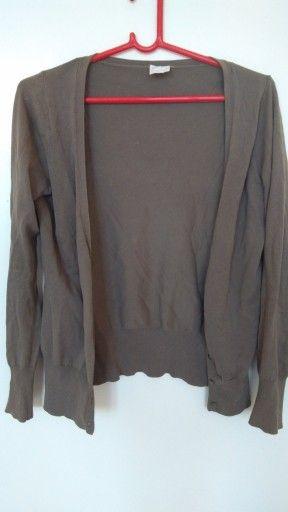 Sweter Damski Rozpinany Kol Khaki Licytacja 7510162294 Oficjalne Archiwum Allegro Jackets Blazer Fashion