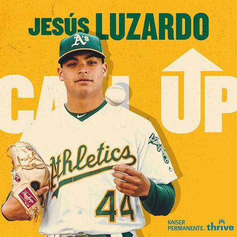 Oakland Athletics: A day that A's fans have been waiting for. Jesús Luzardo will be joining the clu…