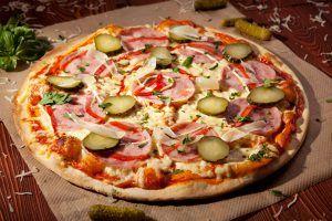 Salmueras Fenomenales Pizza Hecha En Casa Deliciosa De La