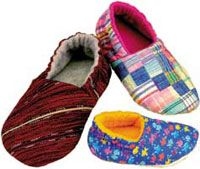 Free Fleece Slipper Pattern | ... in handmade baby and toddler ... : quilted slippers pattern - Adamdwight.com
