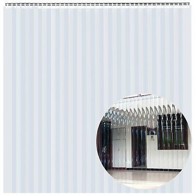 Details About Pvc Strip Curtain Vinyl Door Strips 7 X 8feet Vinyl