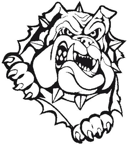 bulldog team mascot vector logo | bulldogs | pinterest | logos