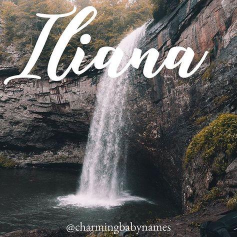 Iliana ✨| @charmingbabynames