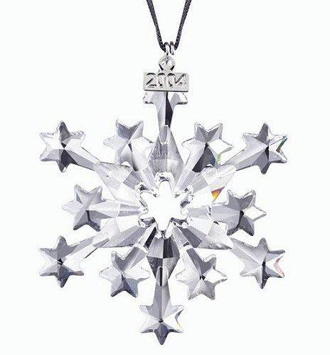 9a44a1ee6 Swarovski Annual Edition Christmas Ornament, 2004